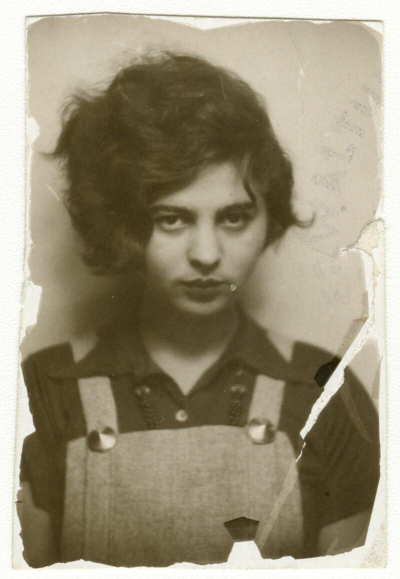 Porträt-Fotografie von Mascha Kaléko, 1933 © Deutsches Literaturarchiv Marbach